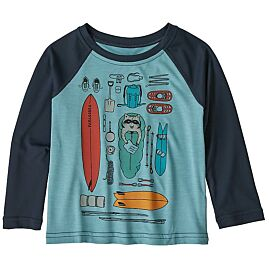 T-SHIRT MANCHES LONGUES CAPILENE COOL DAILY CREW