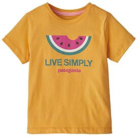T-SHIRT MANCHES COURTES BABY LIVE SIMPLY ORGANIC