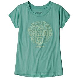 T-SHIRT MANCHES COURTES GIRL GRAPHIC ORGANIC