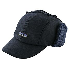CASQUETTE RECYCLED WOOL EARFLAP CAP