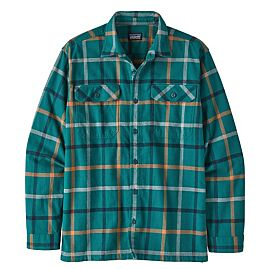 CHEMISE ORGANIC MIDWEIGHT FJORD FLANNEL  M