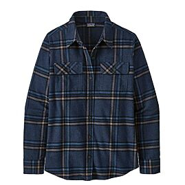 CHEMISE ORGANIC COTON MIDWEIGHT FJORD FLANNEL W