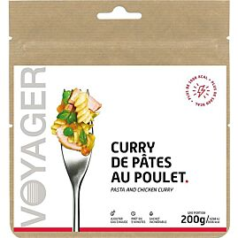 CURRY DE PATES AU POULET  1016 KCAL