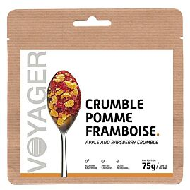 CRUMBLE POMME FRAMBOISE