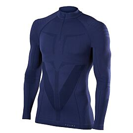 T-SHIRT ML DEMI ZIP RUNNING ATHLETIC ZIP SHIRT M