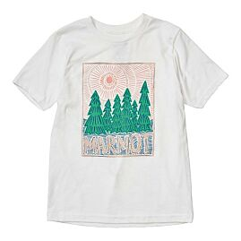 T-SHIRT MANCHES COURTES GIRL'S NICO TEE WHITE