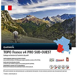 TOPO FRANCE V4 PRO SUD OUEST