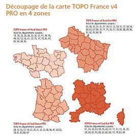 VOUCHER TOPO FRANCE V4  1/4 FRANCE