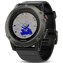 MONTRE GPS FENIX 5 X SAPPHIRE GRAY NOIR