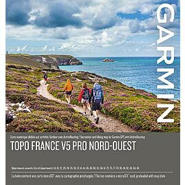 CARTOGRAPHIE TOPO FRANCE V5 PRO NORD-OUEST