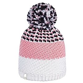 FLAKE STRIPE PON JR BONNET A POMPON
