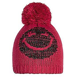 BONNET POMPON SMILEY LUREX PON JR FUCHSIA