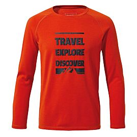 TEE-SHIRT MANCHES LONGUES BOYS FIRST LAYER LS