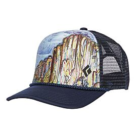CASQUETTE TRUCKER FLAT BILL TRUCKET HAT