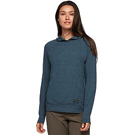 T-SHIRT MANCHES LONGUES STONE HOODY W