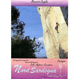 Nord sardignia climbing map