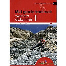 Mid grade trad rock Western Dolomites 1 (N 4)