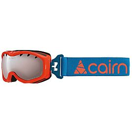 MASQUE DE SKI RUSH Orange miroir argent MASQUE JUN