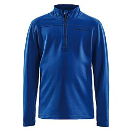 SWEAT POLAIRE COUCHE 2 JUNIOR DEMI-ZIP PIN