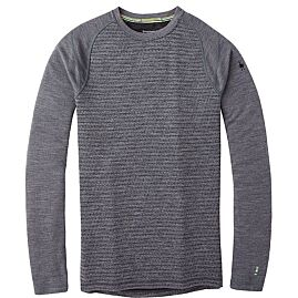 T-SHIRT ML MERINO 250 PATTERN CREW M