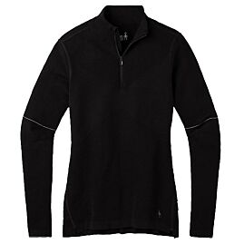 T-SHIRT ML DEMI ZIP INTRAKNIT MERINO 250 W