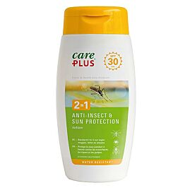 ANTI INSECTES 2 EN 1 PROTECTION SOLAIRE SPF 30