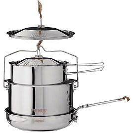 BATTERIE CAMP FIRE COOKSET LARGE INOX