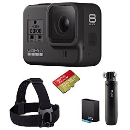 CAMERA DE SPORT HERO8 BLACK HARD BUNDLE