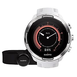 MONTRE GPS SUUNTO 9 G1 BARO WHITE + HR BELT