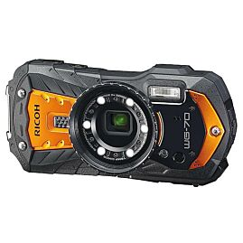 APPAREIL PHOTO ETANCHE WG-70 ORANGE