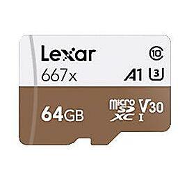 CARTE MEMOIRE MICRO SDXC 667X