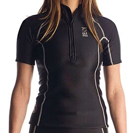 TOP THERMOCLINE MC ZIP FEMME