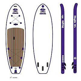 PACK STAND-UP PADDLE DINGHIE 10'6
