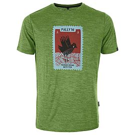 T-SHIRT MANCHES COURTES STAMPED GROUSE M