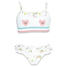 MAILLOT DE BAIN 2 PIECES  JOY COEUR