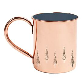 TASSE EVERGREEN EMAILLEE 14 OZ
