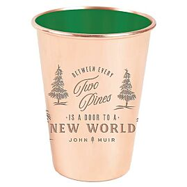 MUG TWO PINES EMAILLE 16 OZ