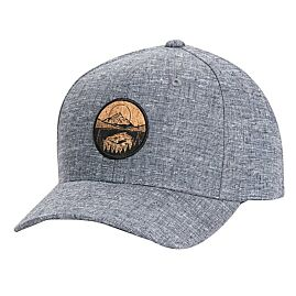 CASQUETTE LAKE CORK PATCH HEMP ELEVATION HAT