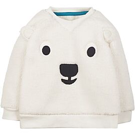 PULL COL ROND EASY ON TED FLEECE JUMPER
