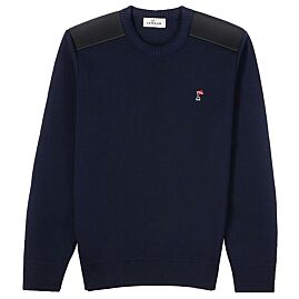 PULL NAVY HOMME