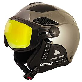 CASQUE VISIERE LOUNA II CHROME