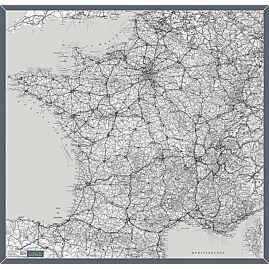 FOULARD FRANCE GRISE 1/1 000 000