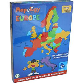 PUZZLE EUROPE 34 PIECES