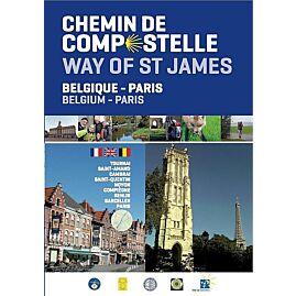BELGIQUE PARIS CHEMIN COMPOSTELLE