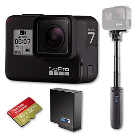 CAMERA DE SPORT HERO7 BLACK HARD BUNDLE