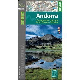 ANDORRA ECHELLE 1.40.000