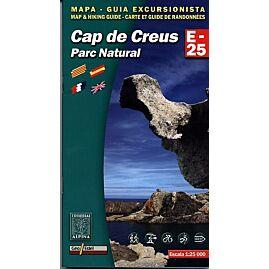 E25 CAP DE CREUS ECHELLE 1.25.000