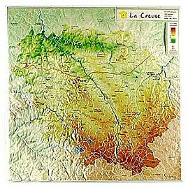 D23 LA CREUSE 31CM X 31CM