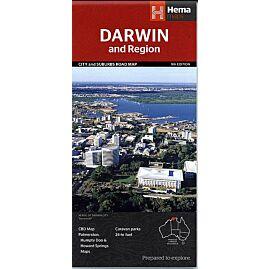 DARWIN ET SA REGION ECHELLE 1.25