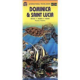 ITM DOMINICA ET SAINT LUCIA 1.50.000  1.40.000
